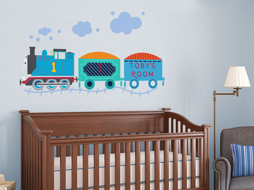 Thomas the tank engine wall stickers | Stickerscape | UK