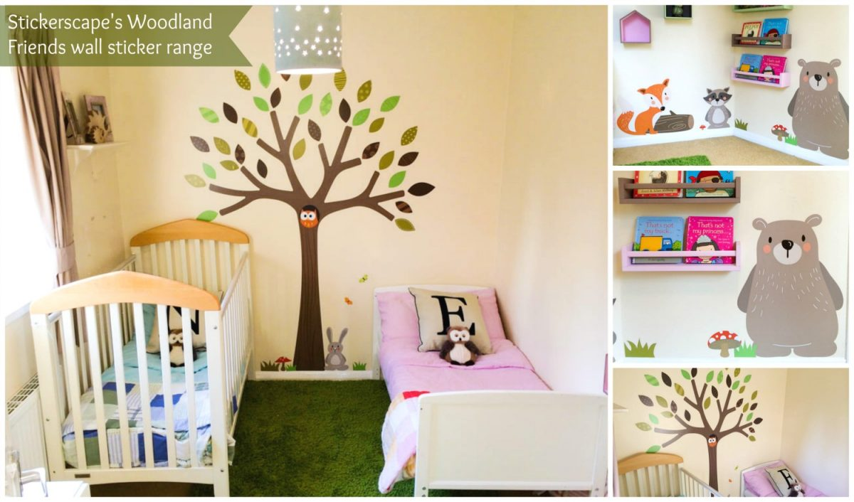 Woodland Friends wall stickers | Real Rooms | Stickerscape | UK