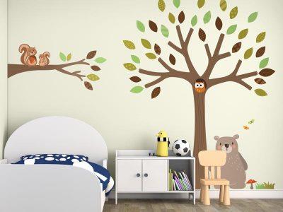 Woodland wall stickers | Stickerscape | UK