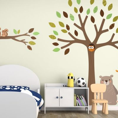 Woodland wall stickers | Stickerscape | UK