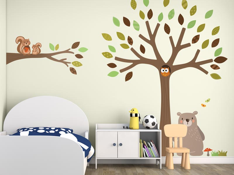 wall sticker application guide | stickerscape | uk